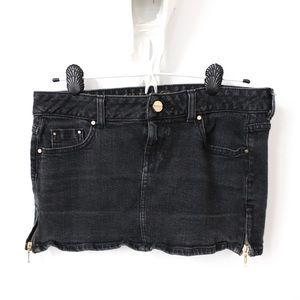 Guess Jeans Vintage Black Mini Skirt